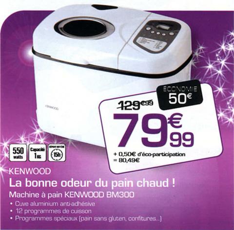 machine pain kenwood moins de 80 euros. Black Bedroom Furniture Sets. Home Design Ideas
